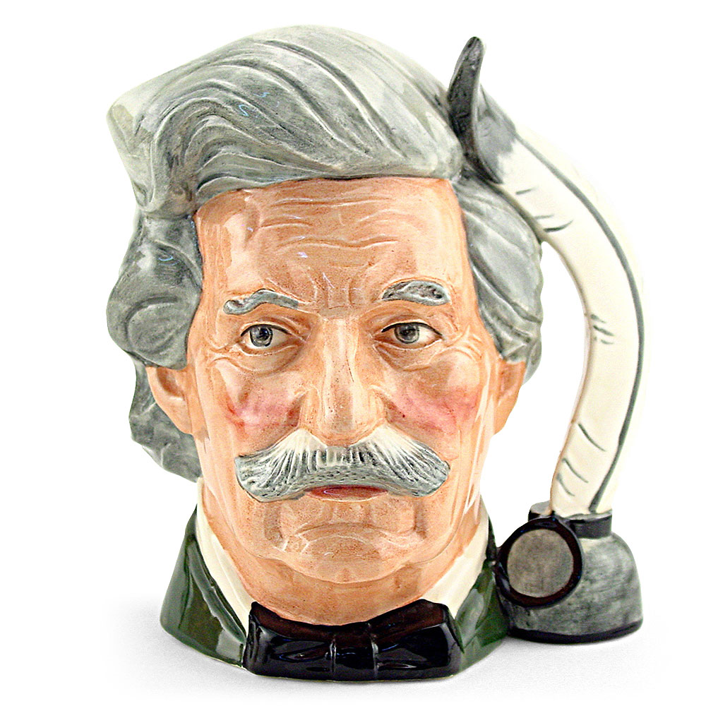 Mark Twain D6654 - Large - Royal Doulton Character Jug