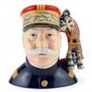 Marshall Joffre D7227 - Large - Royal Doulton Character Jug