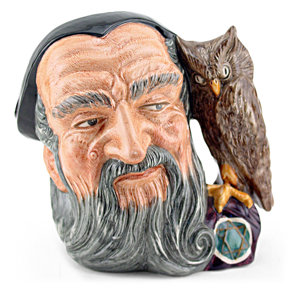 Merlin D6529 - Large - Royal Doulton Character Jug