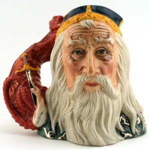 Merlin D7117 - Large - Royal Doulton Character Jug