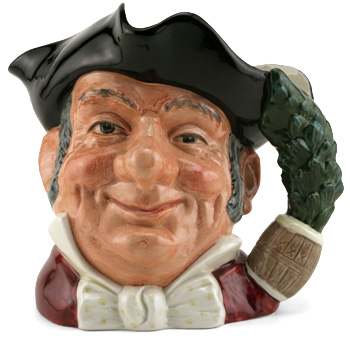 Mine Host D6468 (Bone China) - Large - Royal Doulton Character Jug