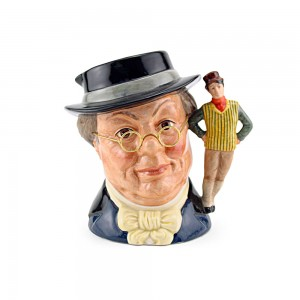 Mr Pickwick New D6959 - Large - Royal Doulton Character Jug