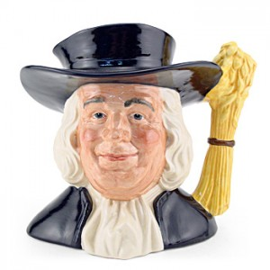 Mr Quaker D6738 - Large - Royal Doulton Character Jug