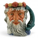 Neptune D6548 (Bone China) - Large - Royal Doulton Character Jug