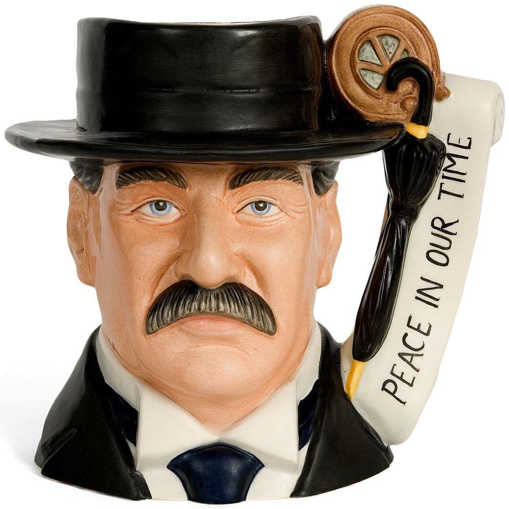Neville Chamberlain D7278 - Large - Royal Doulton Character Jug