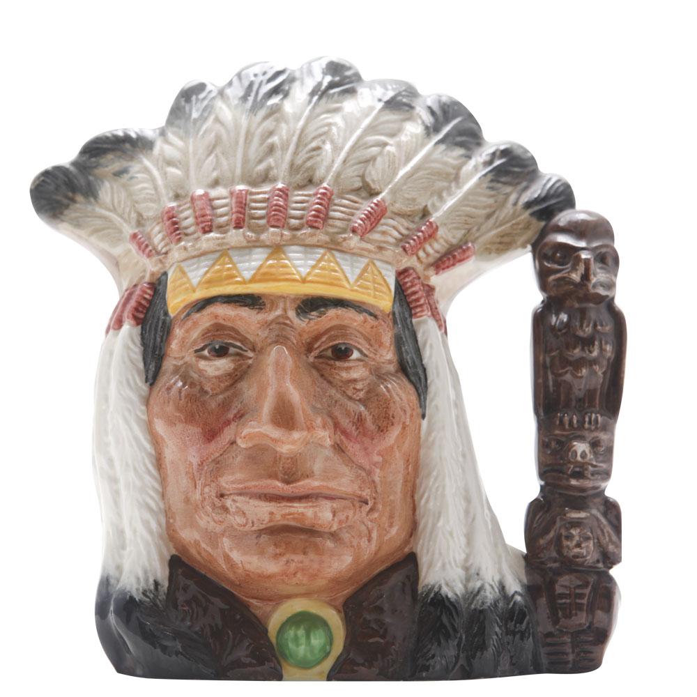 North American Indian BC D6611 - Large - Royal Doulton Character Jug