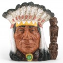 North American Indian D6611 (Centennial Edition) - Large - Royal Doulton Character Jug