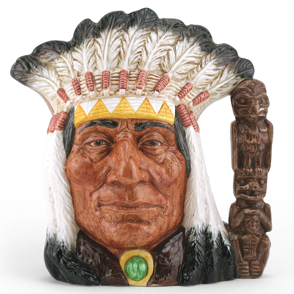 North American Indian D6611 (Centennial Edition) - Large - Royal Doulton Character Jug