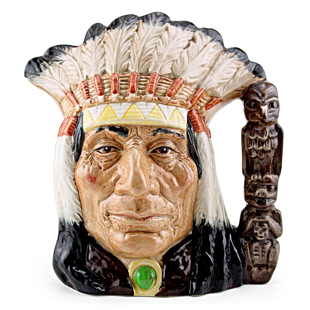 North American Indian D6611 - Large - Royal Doulton Character Jug