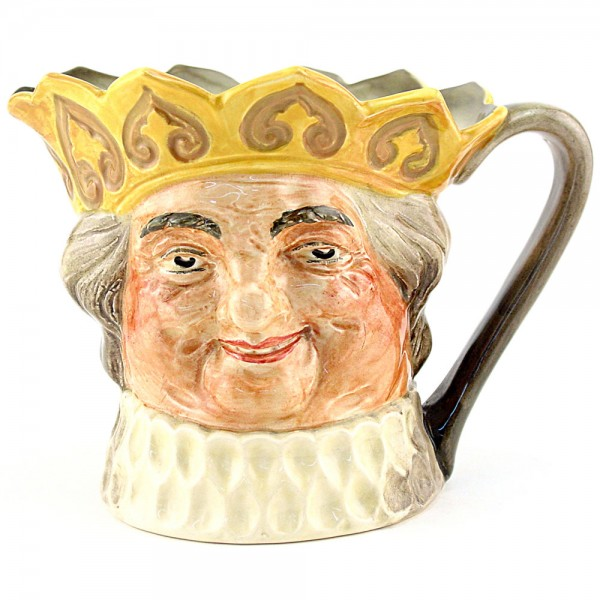 Old King Cole (Yellow Crown) - Large - Royal Doulton Character Jug