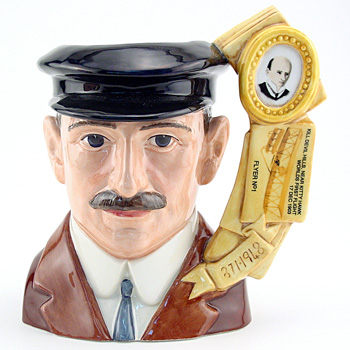 Orville Wright D7178 - Large - Royal Doulton Character Jug