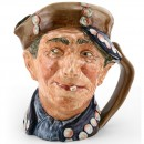 Pearly Boy (Blue Buttons) - Large - Royal Doulton Character Jug
