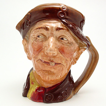 Pearly Boy (Brown Buttons) - Large - Royal Doulton Character Jug