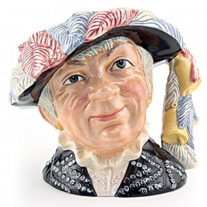 Pearly Queen D6759 - Large - Royal Doulton Character Jug