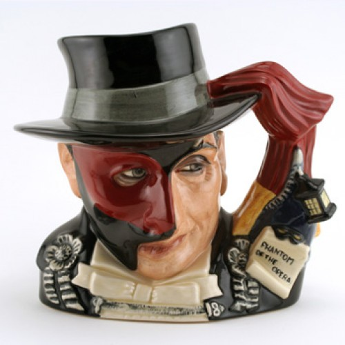 Phantom of Opera D7017 - Large - Royal Doulton Character Jug