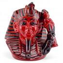 Pharaoh Flambe D7028 - Large - Royal Doulton Character Jug