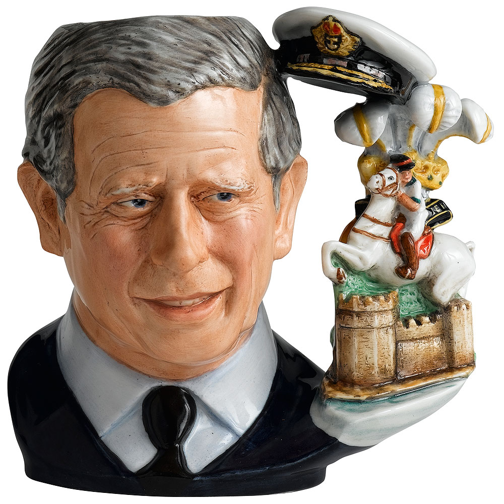 Prince Charles D7283 (2008 Jug of the Year) - Large - Royal Doulton Character Jug
