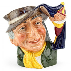 Punch and Judy Man D6590 - Large - Royal Doulton Character Jug