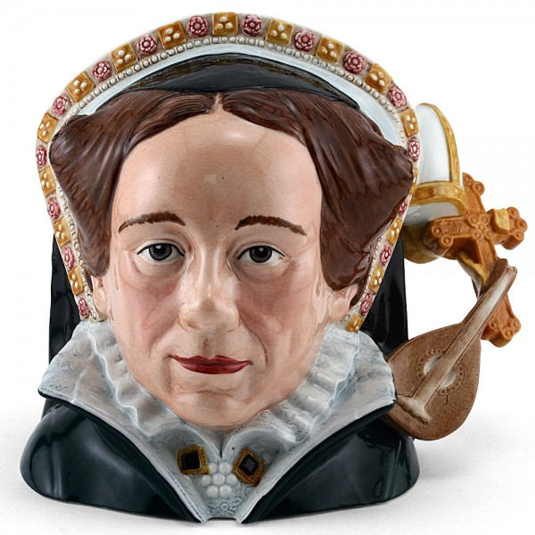 Queen Mary Tudor D7188 (Jug of the Year 2004) - Large - Royal Doulton Character Jug