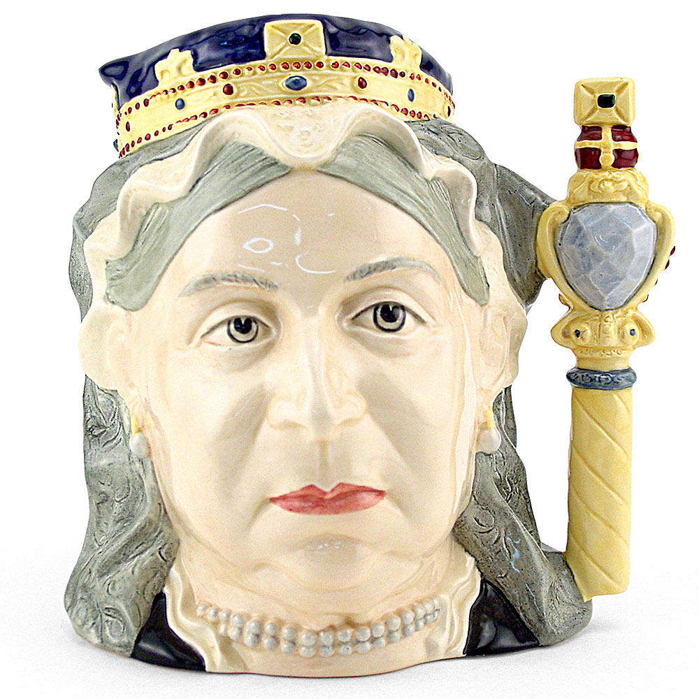 Queen Victoria D6788 (Colorway) - Large - Royal Doulton Character Jug