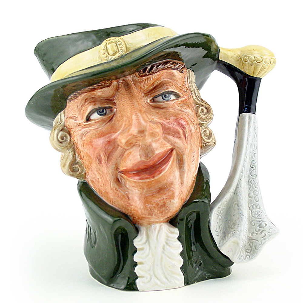 Regency Beau D6559 - Large - Royal Doulton Character Jug
