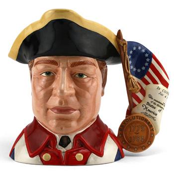 Revolutionary War D7265 - Large - Royal Doulton Character Jug