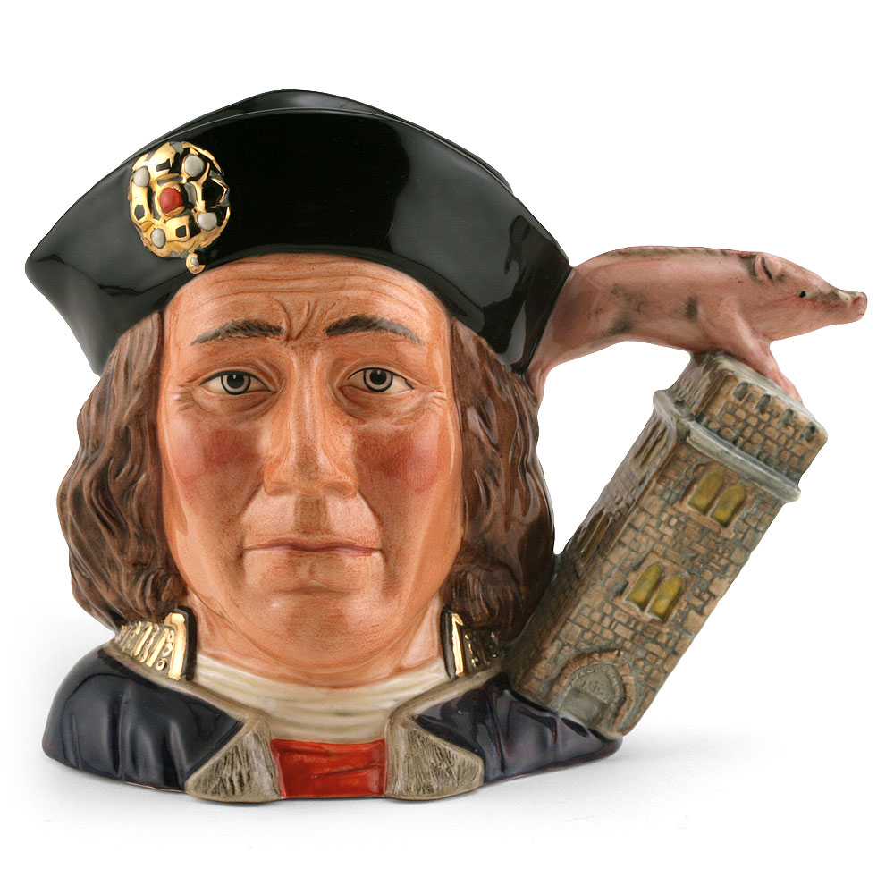 Richard III D7099 - Large - Royal Doulton Character Jug