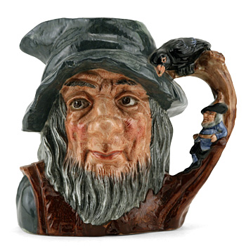 Rip Van Winkle D6438 (Bone China) - Large - Royal Doulton Character Jug