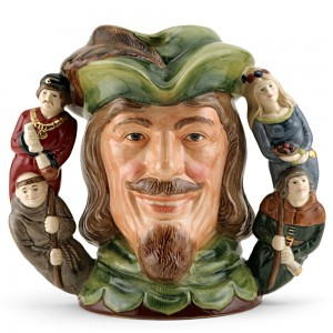 Robin Hood D6998 (Double Handle) - Large - Royal Doulton Character Jug