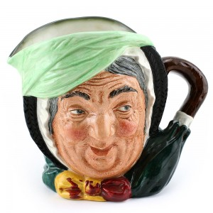 Sairey Gamp D5451 (Bone China) - Large - Royal Doulton Character Jug