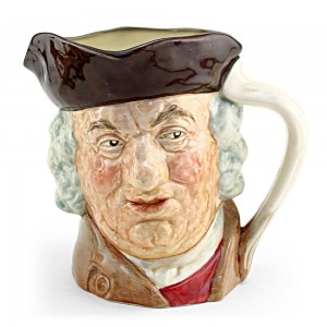 Sam Johnson D6289 - Large - Royal Doulton Character Jug