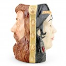 Samson and Delilah D6787 (Doublefaced) - Large - Royal Doulton Character Jug