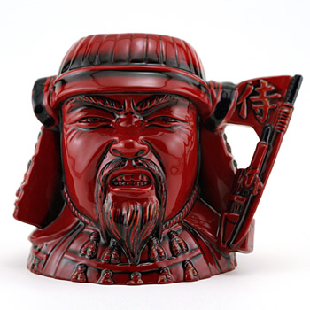Samurai D7255 (Flambe) - Large - Royal Doulton Character Jug