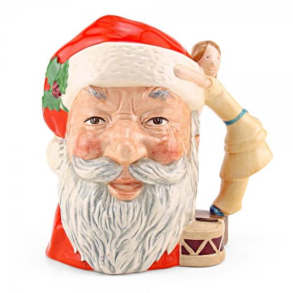 Santa Claus Doll on Drum D6668 - Large - Royal Doulton Character Jug