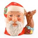 Santa Claus Reindeer D6675 - Large - Royal Doulton Character Jug