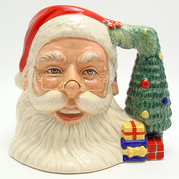 Santa Claus D7123 (Tree Handle) - Large - Royal Doulton Character Jug