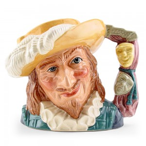 Scaramouche New D6814 - Large - Royal Doulton Character Jug