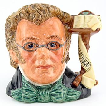 Schubert D7056 - Large - Royal Doulton Character Jug