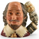 Shakespeare D7136 (with Globe Masks - 1999 Jug of the Year) - Large - Royal Doulton Character Jug