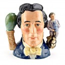 Sir Henry Doulton (Double Handle) D7054 - Large - Royal Doulton Character Jug