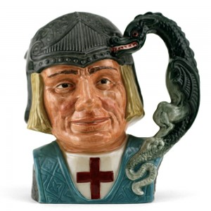 St. George D6618 (Bone China) - Large - Royal Doulton Character Jug
