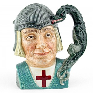 St George D6618 - Large - Royal Doulton Character Jug