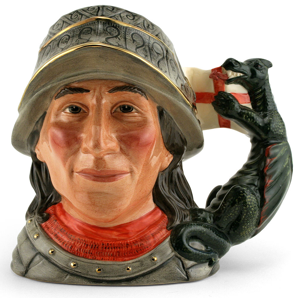 St. George Lawleys D7129 - Large - Royal Doulton Character Jug