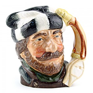 Trapper D6609 - Large - Royal Doulton Character Jug