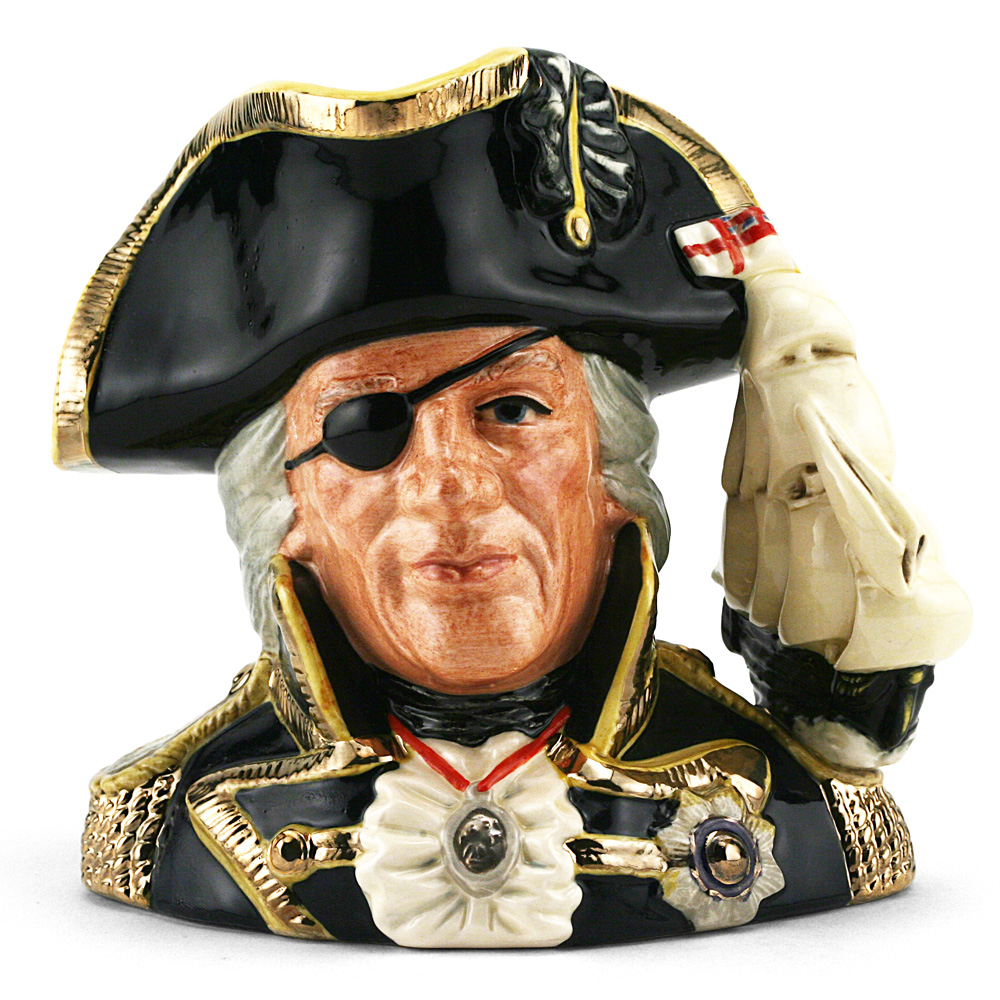 Vice Admiral Lord Nelson (Color Variation) - Large - Royal Doulton Character Jug