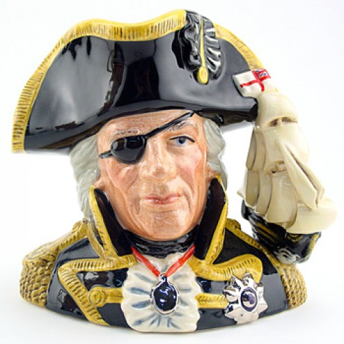 Vice Admiral Lord Nelson D6932 - Large - Royal Doulton Character Jug