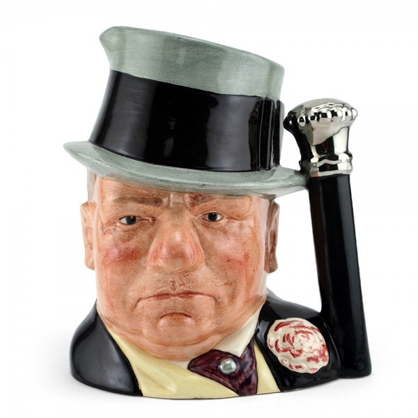WC Fields D6674 - Large - Royal Doulton Character Jug