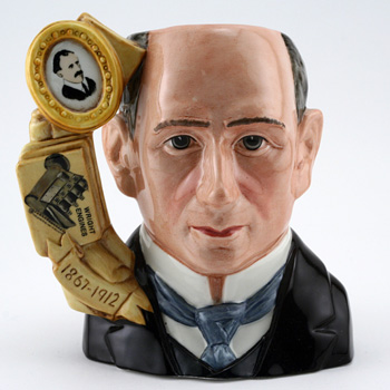 Wilbur Wright D7179 - Large - Royal Doulton Character Jug