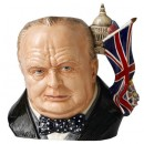 Winston Churchill D7298 (2009 Jug of the Year) - Large - Royal Doulton Character Jug