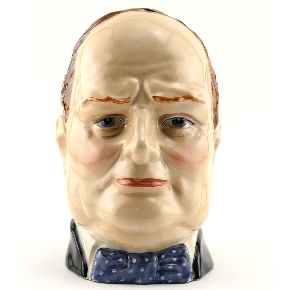 Winston Churchill DH PeggyDavis - Large - Royal Doulton Character Jug